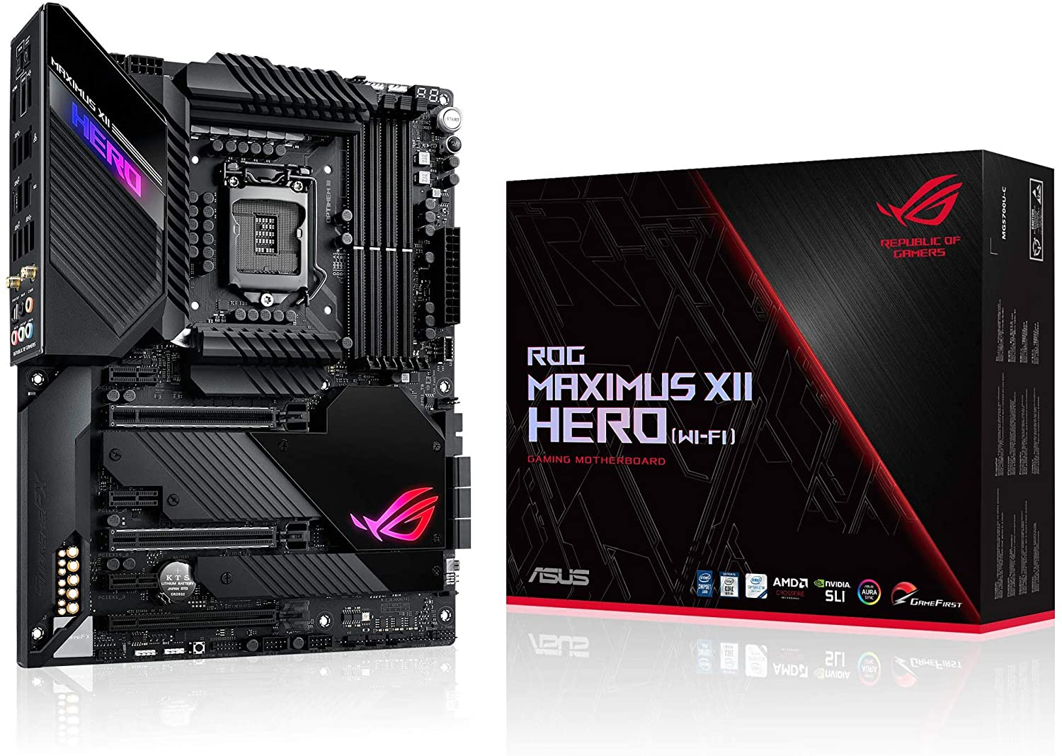 Mainboard ASUS Z490 ROG MAXIMUS XII HERO (WI-FI)