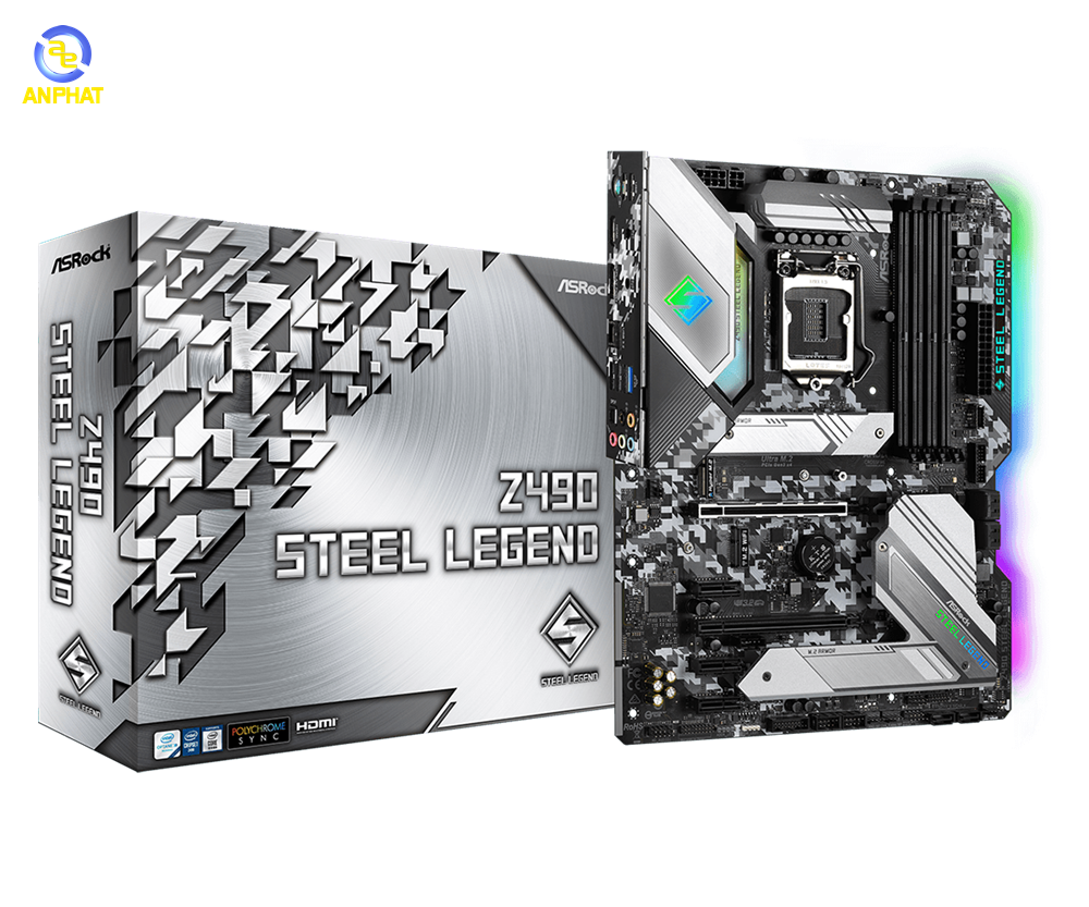 Mainboard ASROCK Z490 Steel Legend