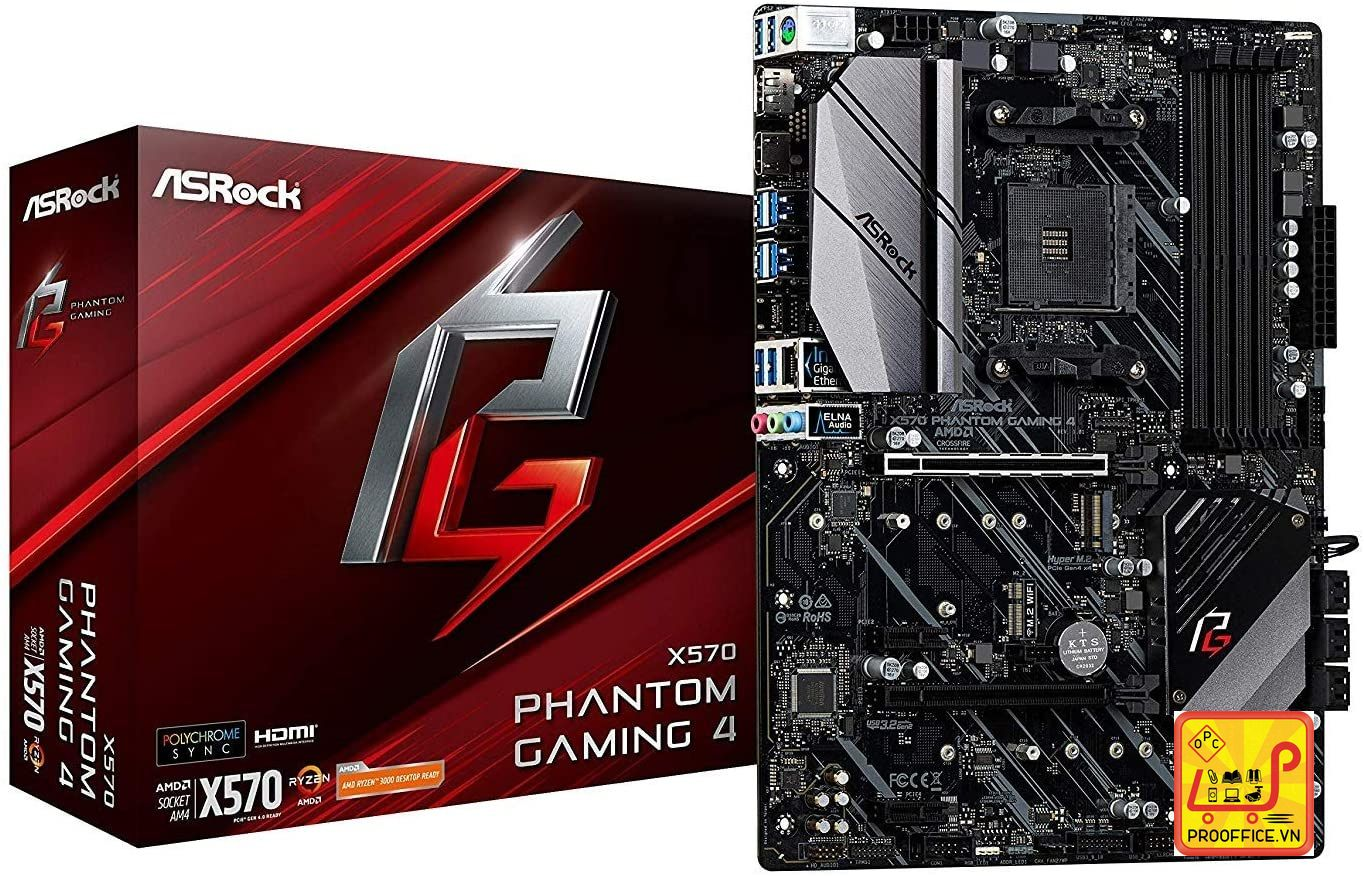 Mainboard ASRock X570 Phantom Gaming 4