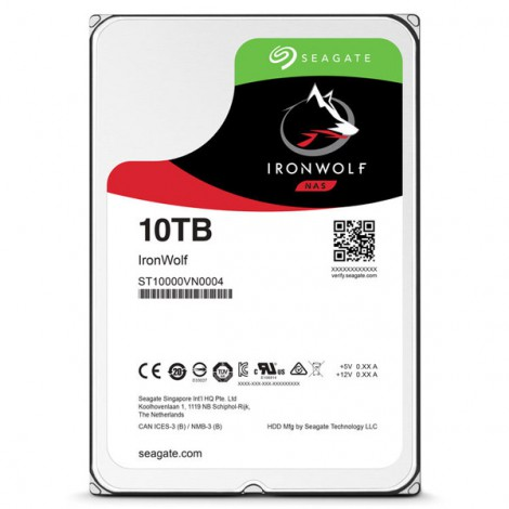 HDD 10TB Seagate Ironwolf ST10000VN0004