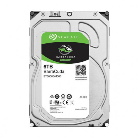 HDD 6TB SEAGATE BarraCuda ST6000DM003