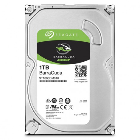 HDD 1TB SEAGATE BarraCuda ST1000DM010