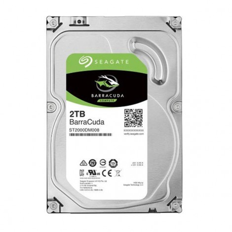 HDD 2TB SEAGATE BarraCuda ST2000DM008