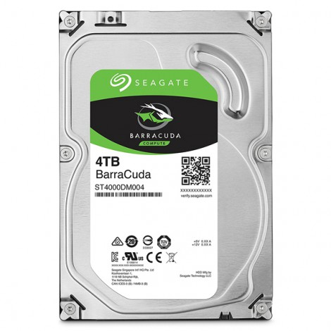 HDD 4TB SEAGATE BarraCuda ST4000DM004