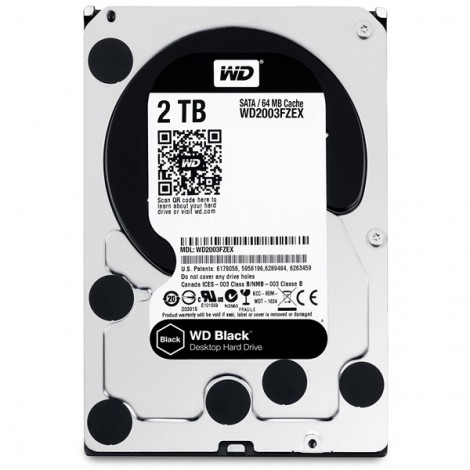 HDD 2TB WD2003FZEX (Black)
