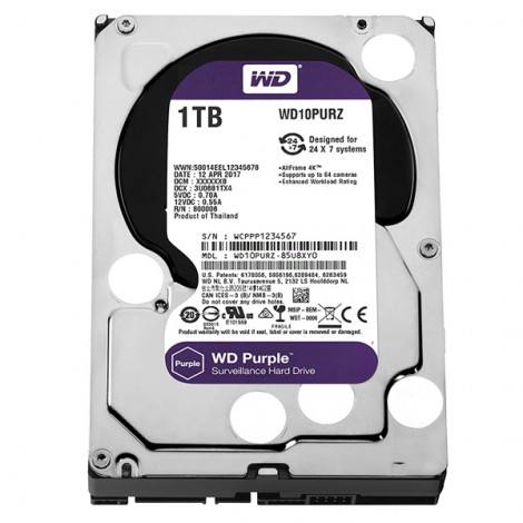 HDD 1TB WD10PURZ (Purple)