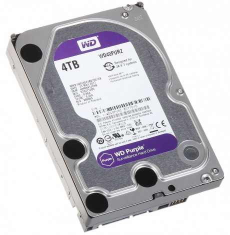 HDD Camera WD Purple 4TB Sata3 5400rpm (WD40PURZ)