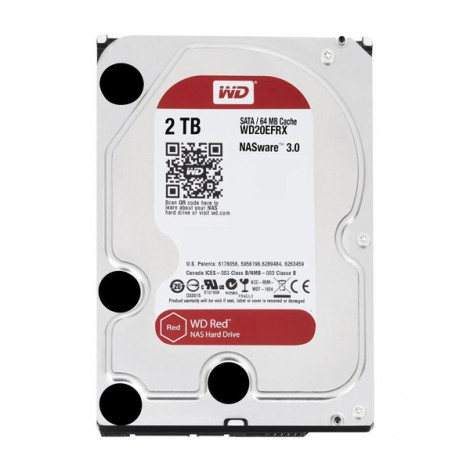 HDD NAS WD Red 2TB Sata3 5400rpm (WD20EFRX)