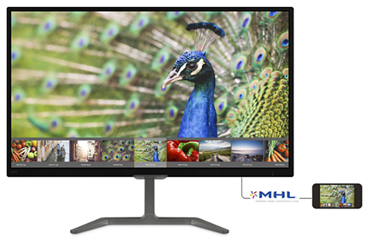 Màn hình Philips 246E7QDSB 23.6-inch 5ms FHD@60Hz Widescreen PLS