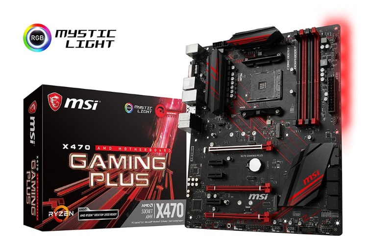 Mainboard MSI X470 Gaming Plus