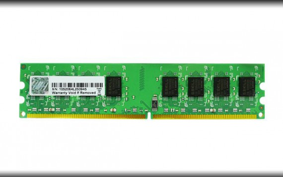 RAM 2GB G.Skill F2 6400CL5S 2GBNT Bus 800