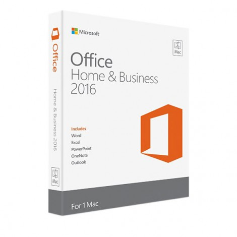 Phần mềm Microsoft Office Mac Home Business 1PK 2016 W6F-00882
