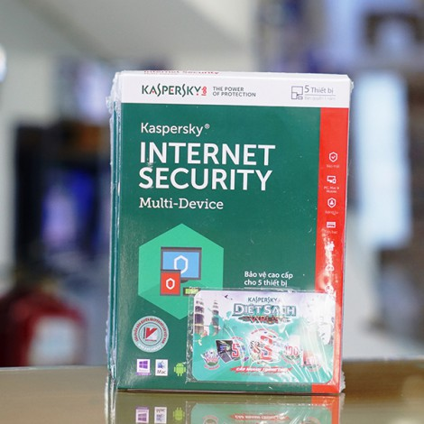 Phần mềm diệt Virus Kaspersky Internet Security Multi Device