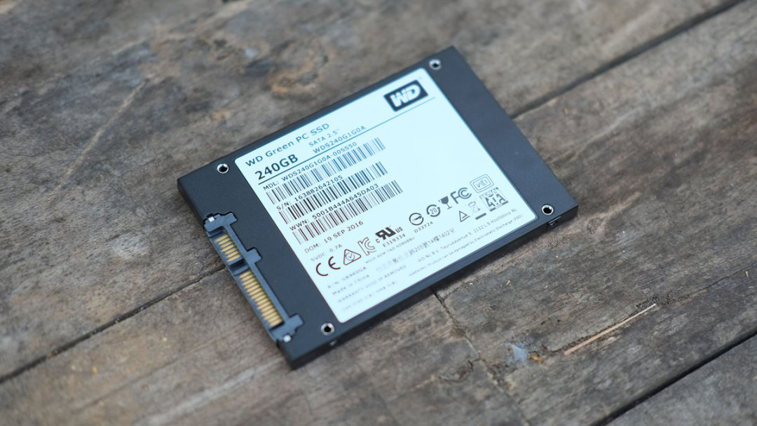 SSD WD Green 240GB (WDS240G2G0A)