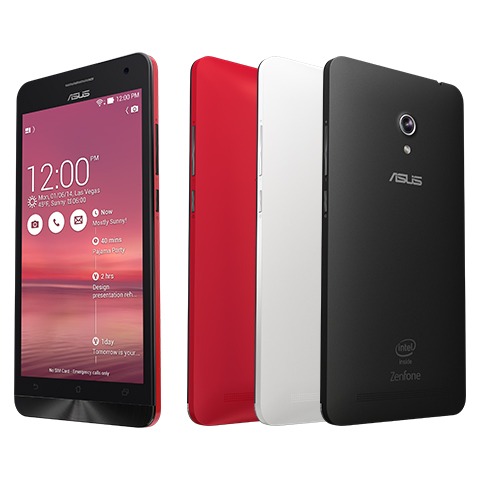 "ASUS ZENFONE 6 A600CG – IPS 6.0"" / 13MP / 8GB / 2 SIM"