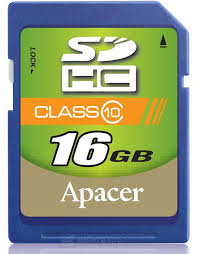 Card SDHC 16GB Apacer/Class 4