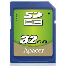 Card SDHC 32GB Apacer