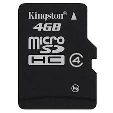 Card Micro SDHC 4GB Kingston