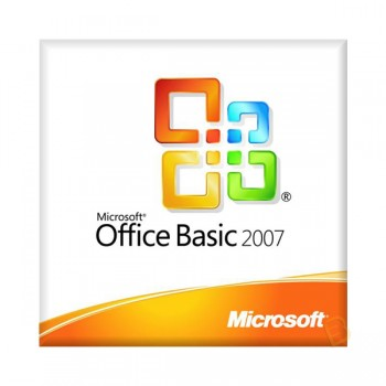 OFFICE  Basic Edition 2007 Win32 English OEM CD w/SP2 (WORD, EXCEL, OUTLOOK)
