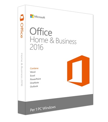 OFFICE  HOME AND BUSINESS  2016( 32bit/64 ENG APAC EM T5D-02274)