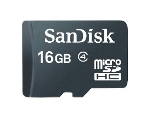Card Micro SDHC 16GB Sandisk