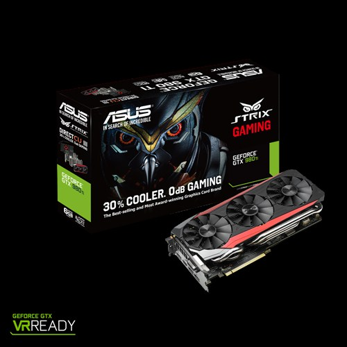 VGA ASUS 6GB STRIX GTX980Ti DC3- 6GD5