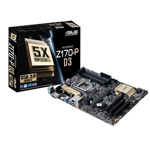 MAINBOARD ASUS Z170- P D3