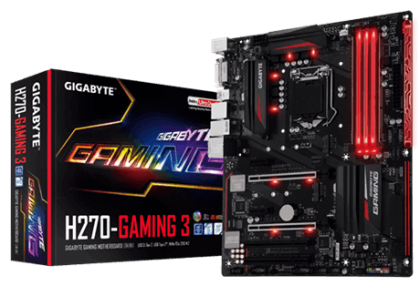 MAINBOARD GIGABYTE H270 GAMING 3 DDR4