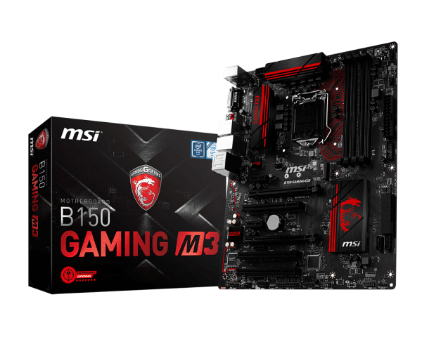 MAINBOARD MSI B150 GAMING M3