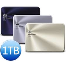 HDD WD 1TB PASSPORT ULTRA METAL EDITION