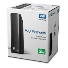 "HDD WD 2TB ELEMENTS 3.5"" USB3.0"