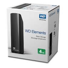 "HDD WD 4TB ELEMENTS 3.5"" USB3.0"