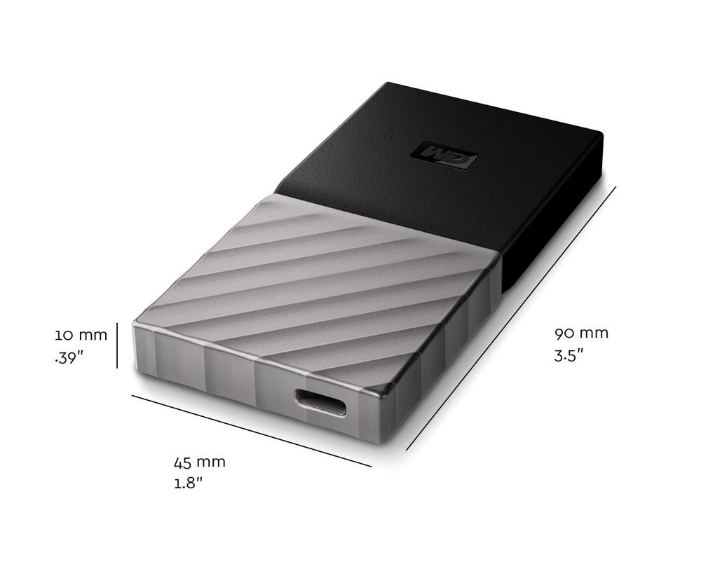SSD WESTERN 256GB MY PASSPORT EXTERNAL (TYPE C)