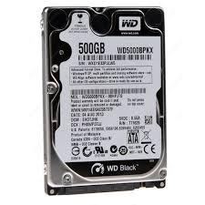 HDD WESTERN 500GB- 5003AZEX (ĐEN)