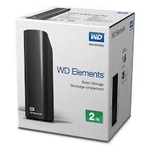 "HDD WD 2TB ELEMENTS 3.5"" USB3.0"